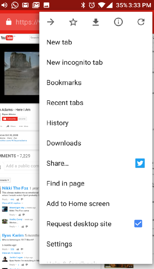 Use Google Chrome Browser (Android)