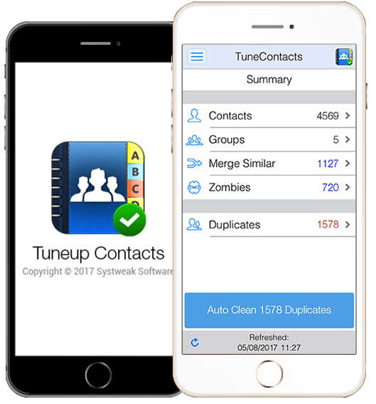 what is tuneup contacts