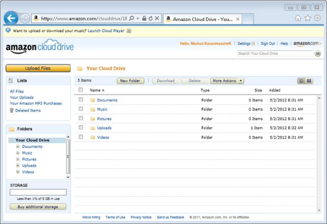 amazon_cloud_drive Cloud Storage Tools for Big Data