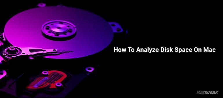 analyze disk space on mac