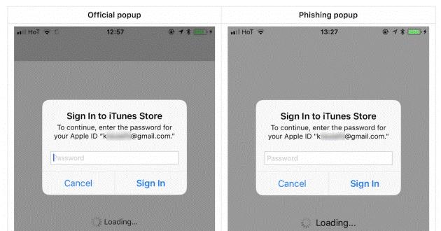 apple phishing attack