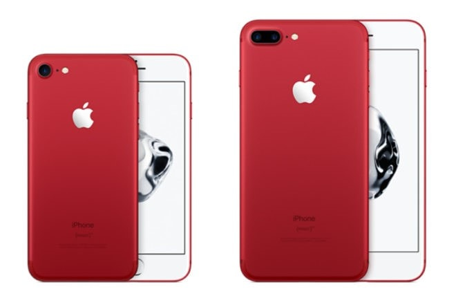 apple's red iphone