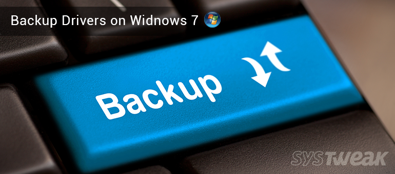 backup drivers on windows 7
