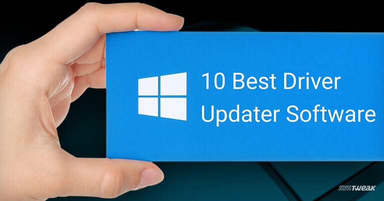 best driver updater software for windows