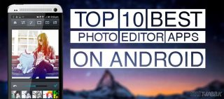 Best Photo Editor Apps on android