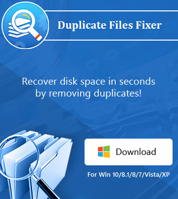 Duplicate Files Fixer – windows