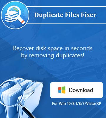 Duplicate Files Fixer – windows