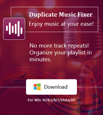 Duplicate Music Fixer – windows