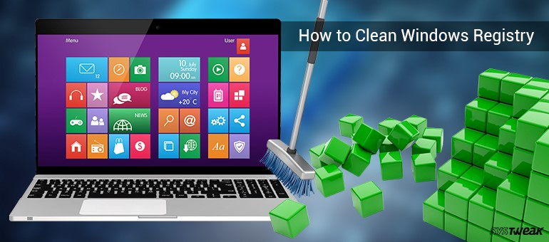 how to clean windows Registry Error