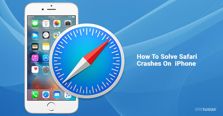how to solve safari crash on iphone