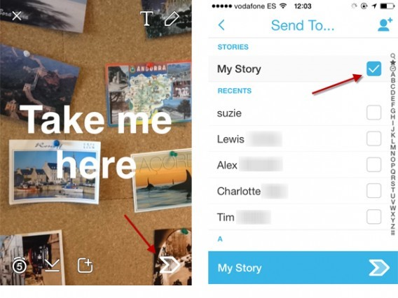 how-to-write-own-story-on-snapchat