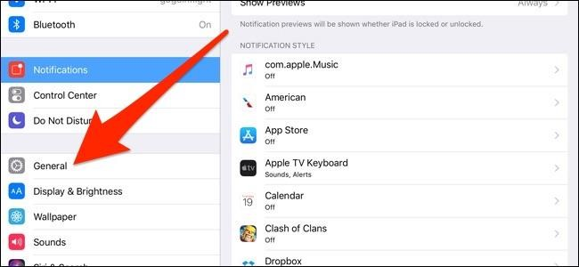iPad general icon