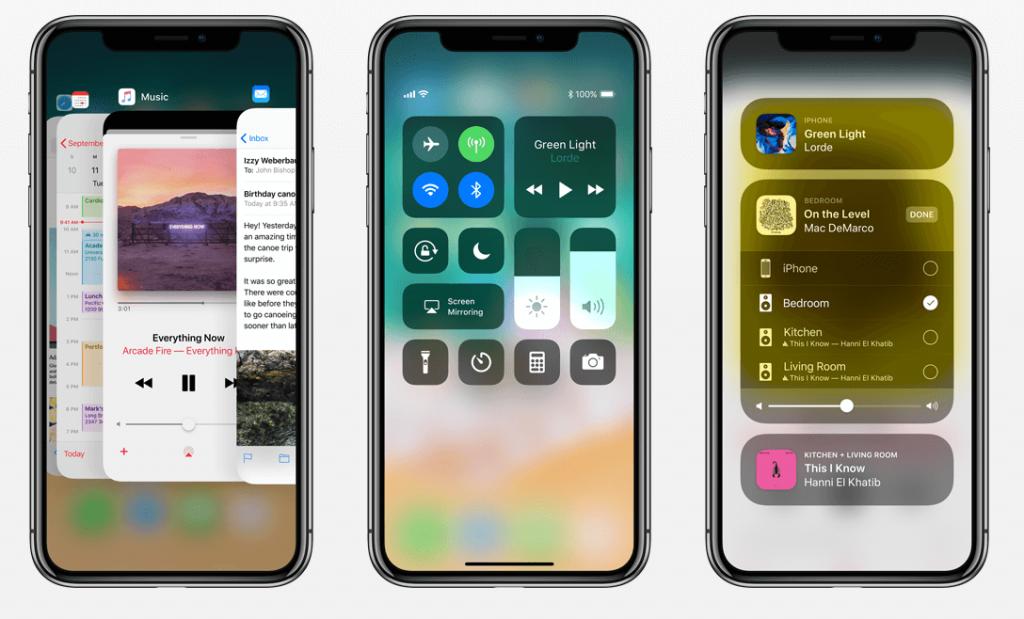 iphone x OS