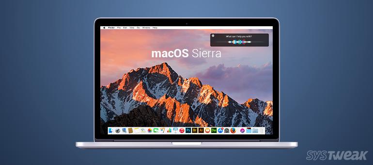 macOS Sierra (Systweak )