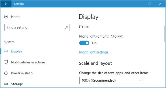 night-light-on-windows-10
