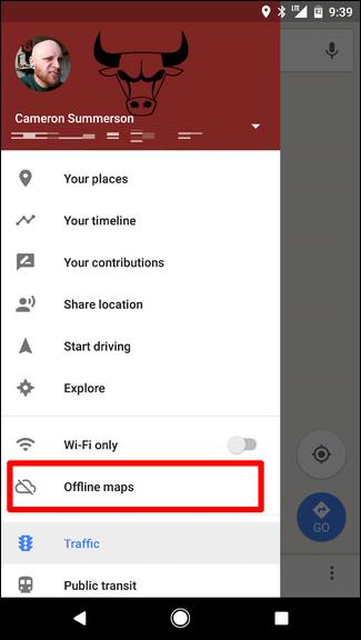 offline maps for google maps