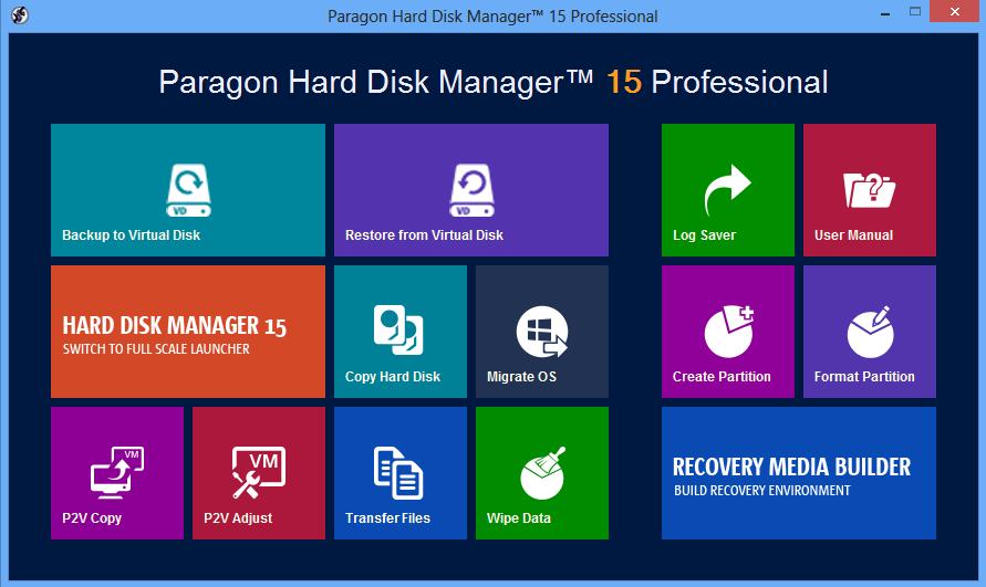 paagon harddisk manager 15 professional
