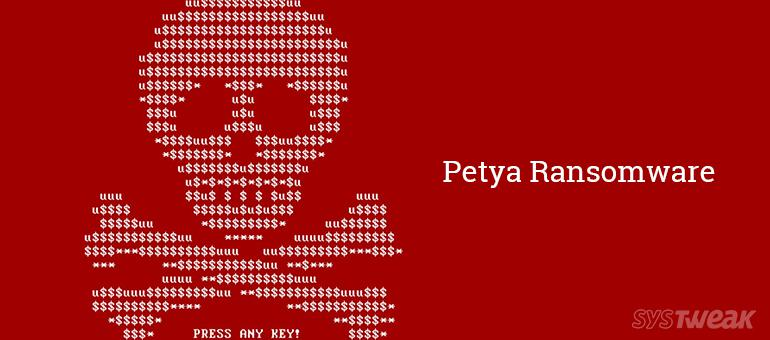 petya Ransomware your computer at risk