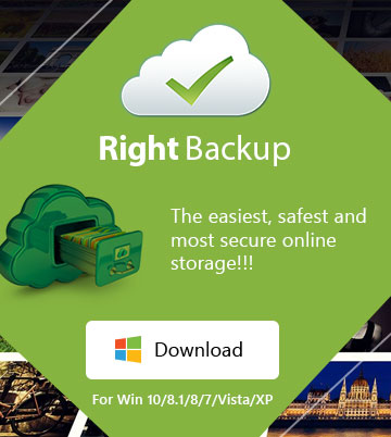 Right Backup – windows