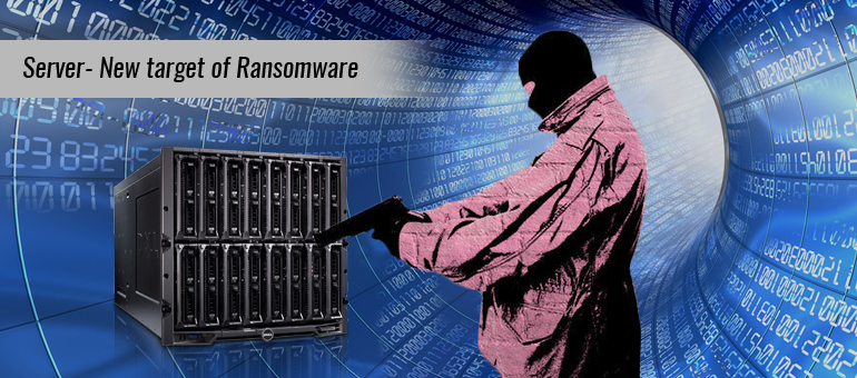 server and system with outdated apps target by ransomware