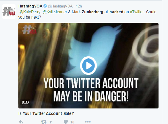 twiiter hacked