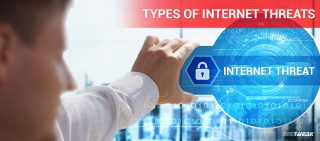 types of internet threats