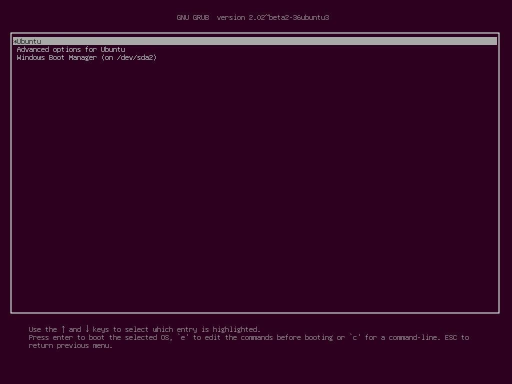 ubuntu gnu version