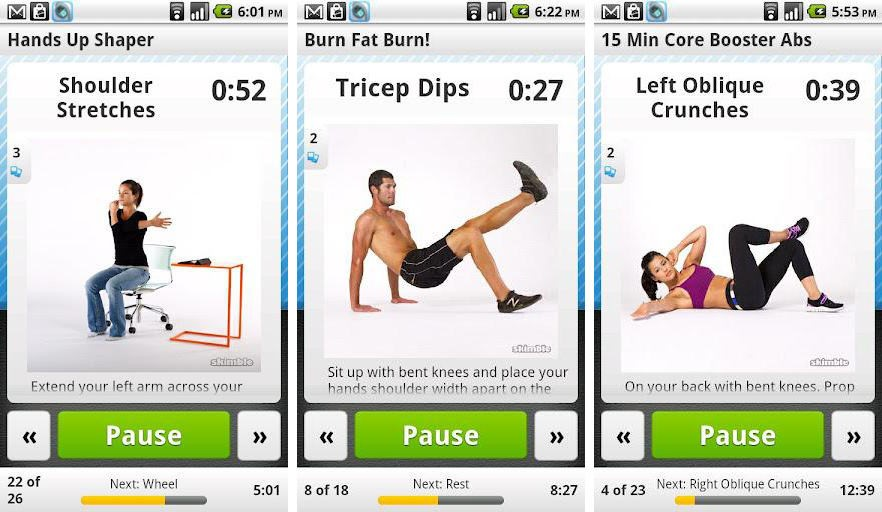 workout trainer best fitness app
