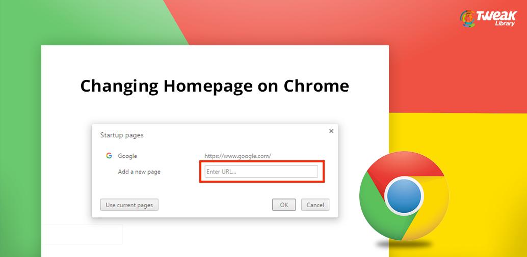 How to change Chrome homepage