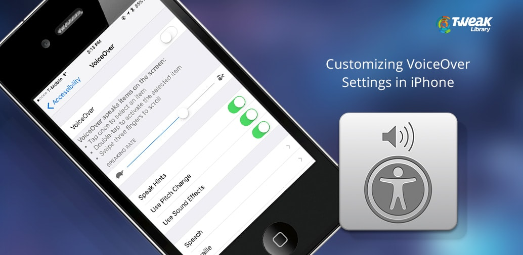 How to Customize VoiceOver Settings in iPhone