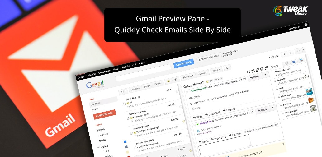 Gmail Preview Pane- A Quick View To Emails