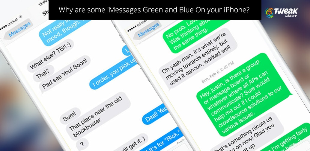 Why Are Some iMessages Green And Blue On Your iPhone?