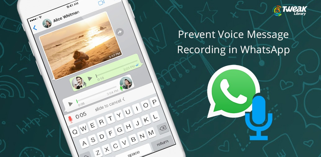 How To Disable Voice Message Recording In WhatsApp For iPhone