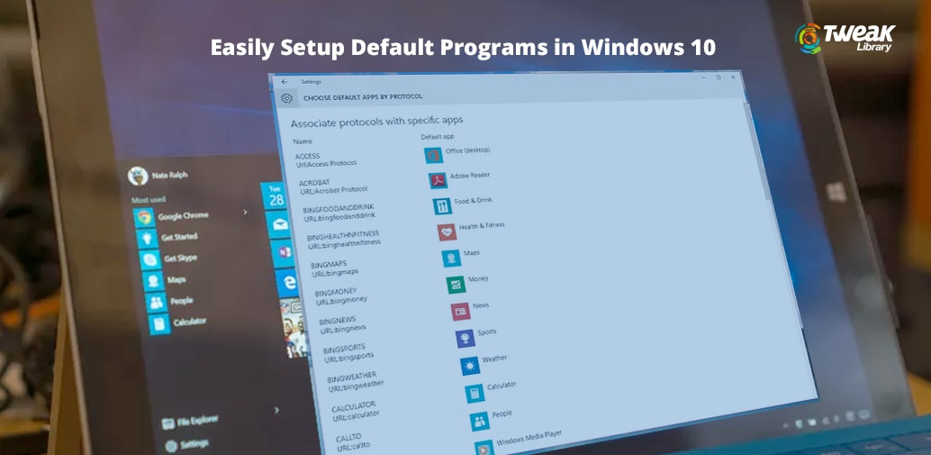 How To Setup Programs As Default in Windows 10
