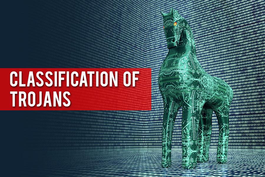 classification of trojan