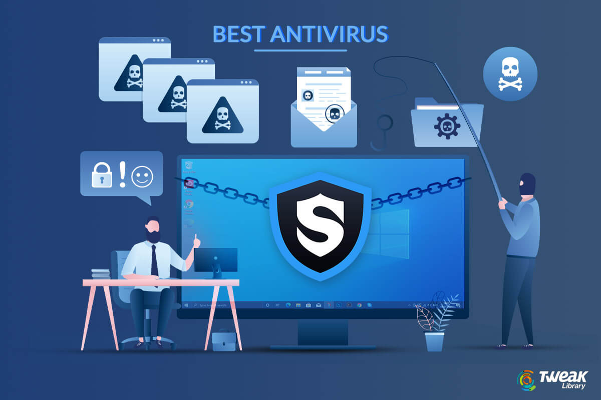 Top 10 Best Antivirus Software For Windows 10, 8, 7 (2021 Picks)