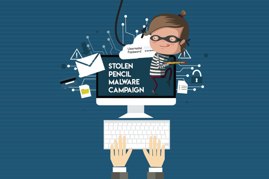 Stolen Pencil – A New Malware Campaign