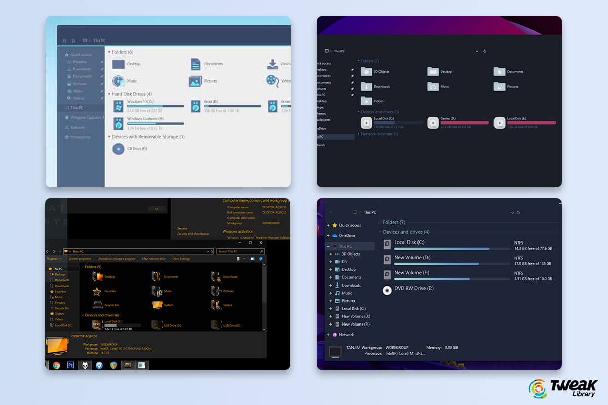 10 Best Windows 10 Themes in 2020 (Free & Paid)