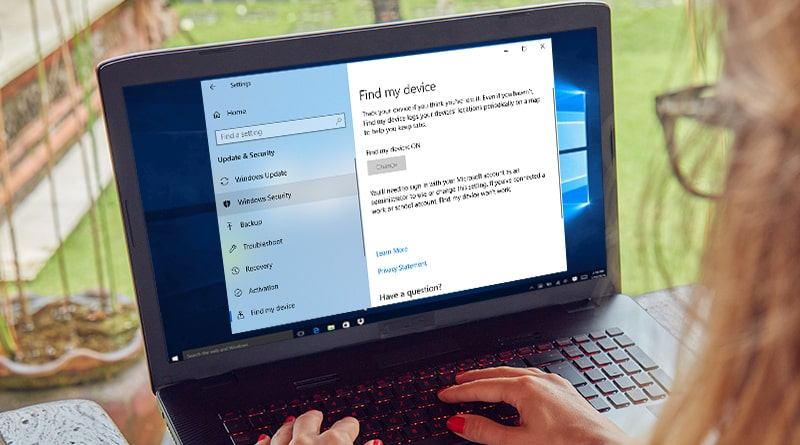 How to Setup Find My Device in Windows 10
