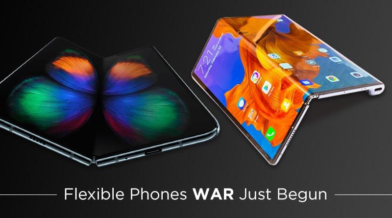 Tech Giants Rat Race for Foldable Phones