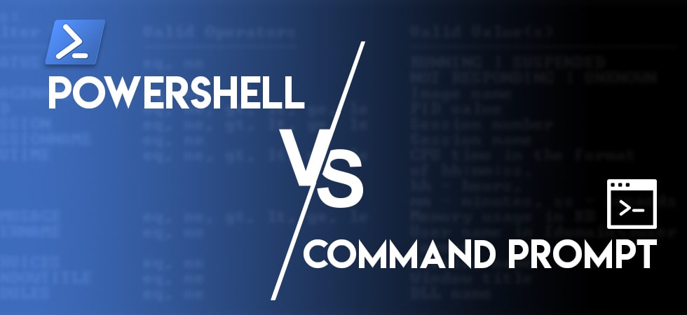 Difference Between PowerShell & CMD in Windows 10