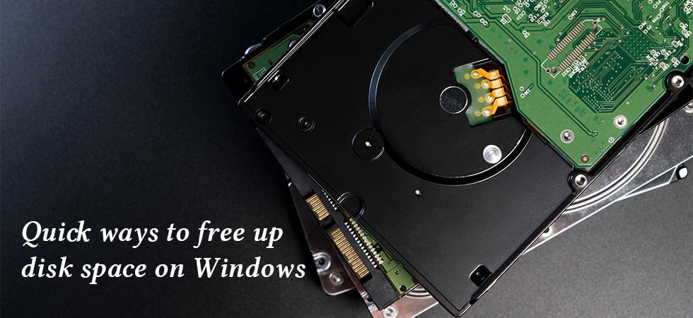 5 Quick Ways to Free up Disk Space on Windows