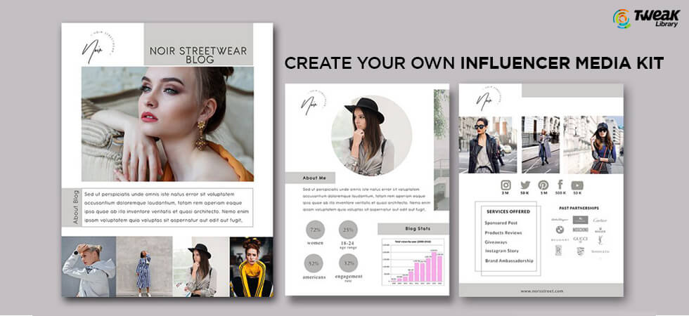 How To Create Your Own Influencer Media Kit?