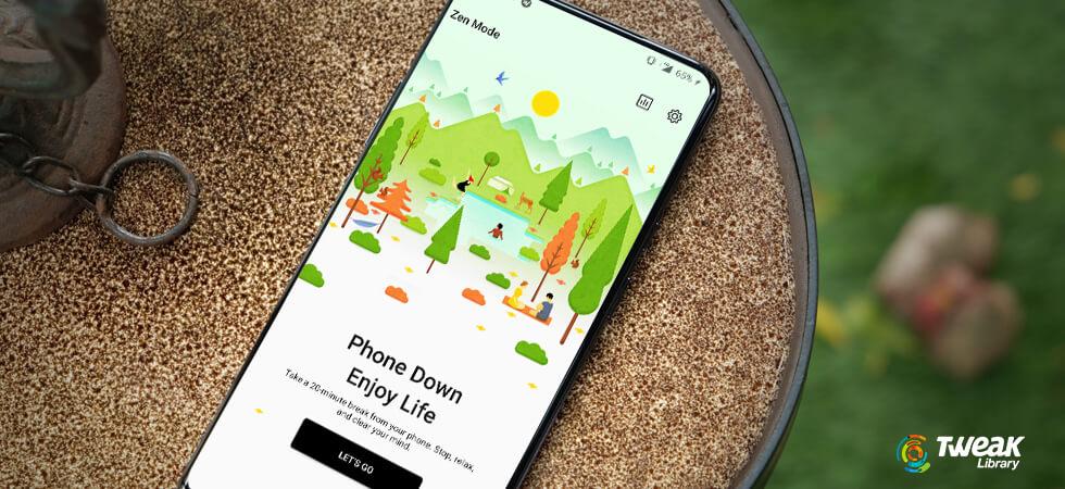 Zen Mode in OnePlus- A Unique Feature