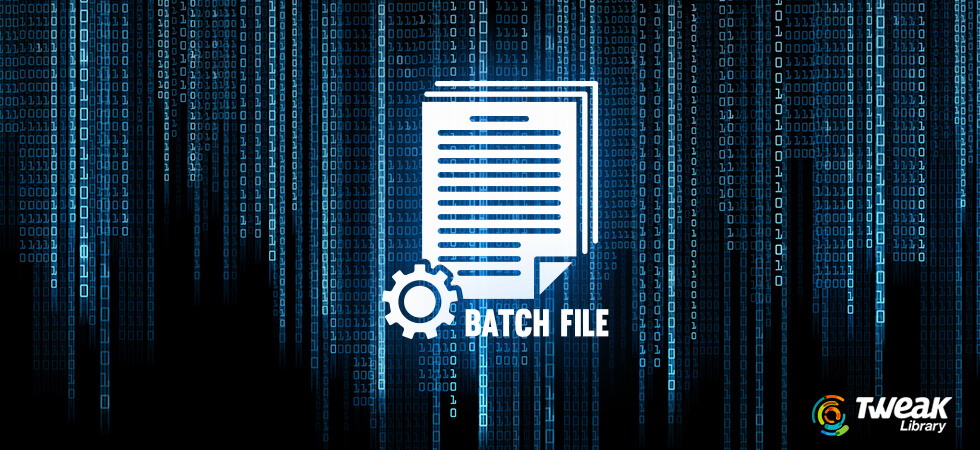 What Is A Batch File In Windows