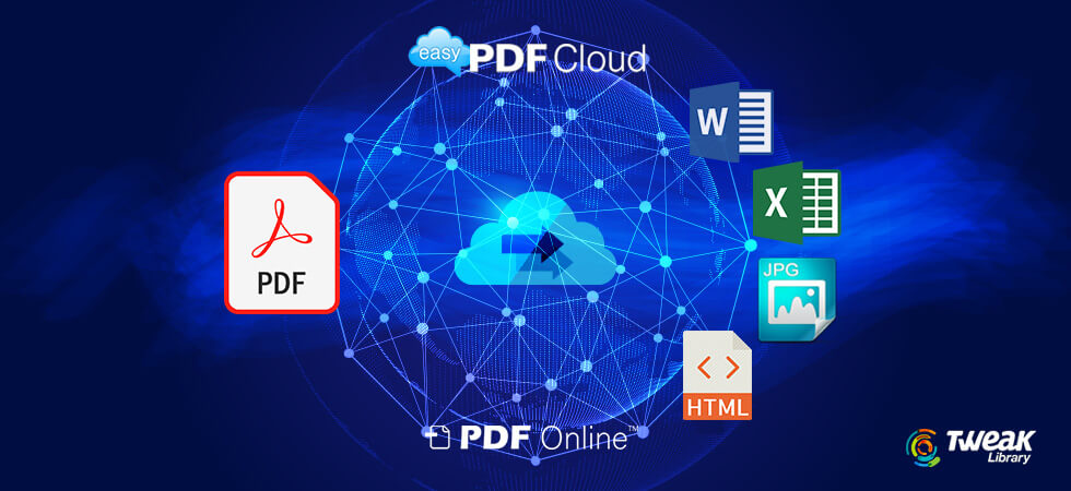 EasyPDFCloud – PDF to Word Converter Software