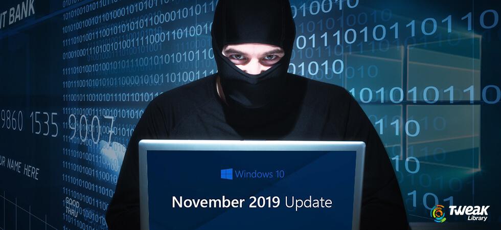 Windows 10 November 2019 Update (Fake Update, Ransomware)