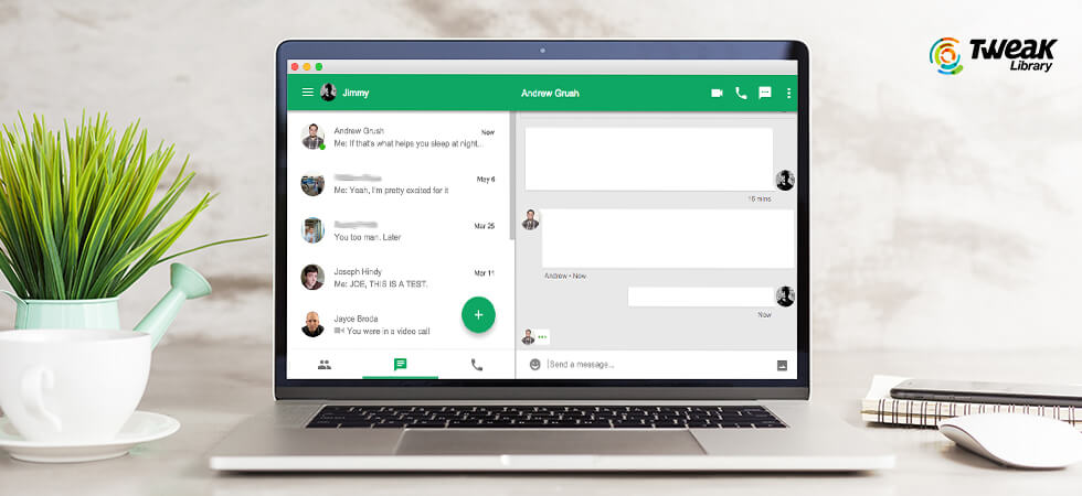 How to Share Your Screen With Google Hangouts