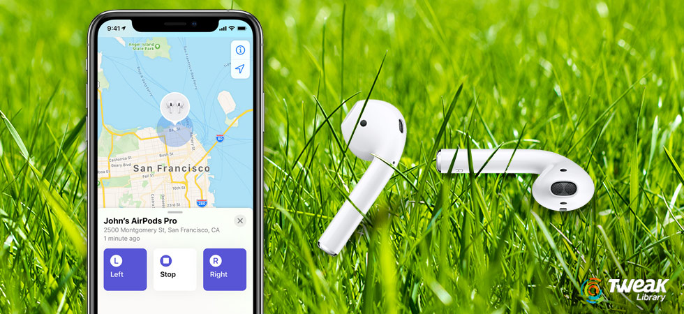 Now Never Lose Your AirPods With Apple's 'Find my AirPod' Feature