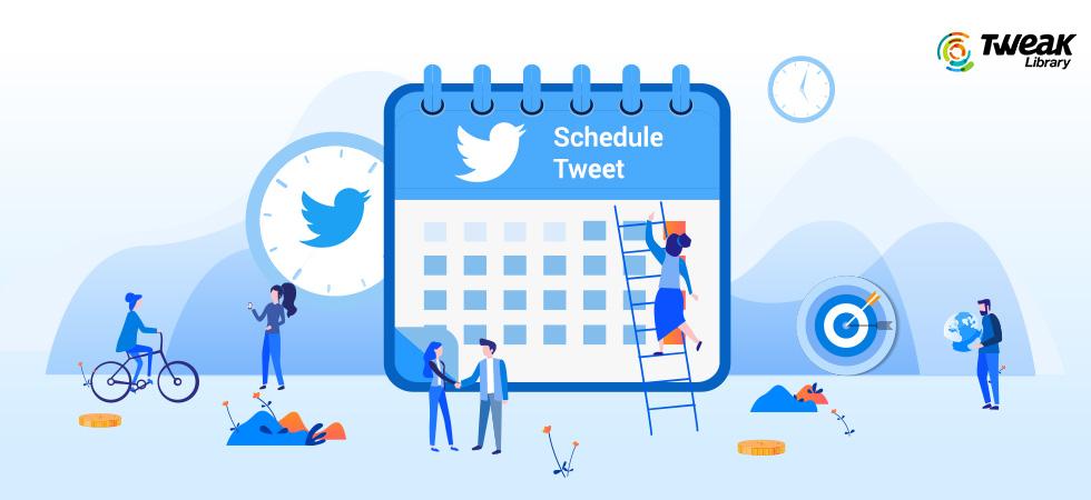 How To Schedule Tweet On Twitter's Web App?